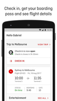 Qantas Airways pc screenshot 1