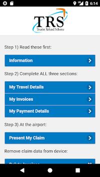 Tourist Refund Scheme pc screenshot 1