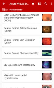 Eye Emergency Manual pc screenshot 1