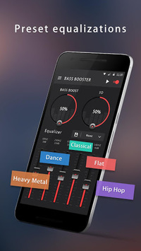 Bass Booster & Equalizer pc screenshot 1