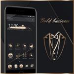 Gold Black Neat Theme icon