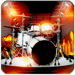 Drum Solo Legend - The best drums app for pc logo