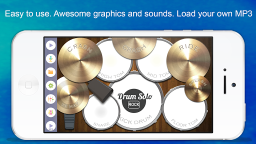 Drum Solo: Rock! pc screenshot 1