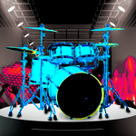 Drum Hero (rock music game, tiles style) for pc logo