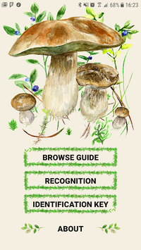 Mushrooms app pc screenshot 2