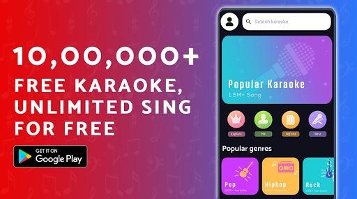 Free Karaoke - Sing Free Karaoke, Sing & Record PC screenshot 1