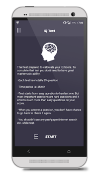 IQ Test pc screenshot 1