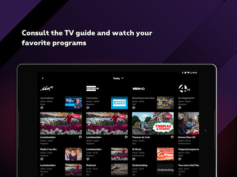 Proximus TV pc screenshot 1