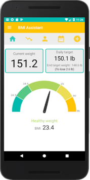 Weight Loss Tracker - BMI Assistant pc screenshot 2
