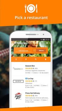 Takeaway.com - Belgium pc screenshot 1