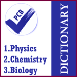 Dictionary PCB [Phy-Che-Bio] for pc logo