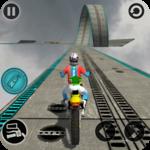 Impossible Motor Bike Tracks New Motor Bike icon
