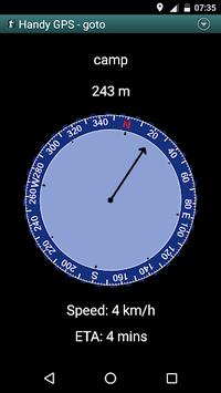 Handy GPS (free) pc screenshot 2