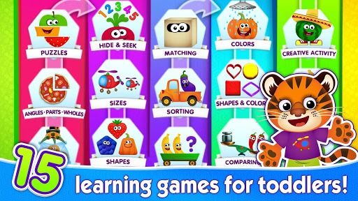 FUNNY FOOD 2! Educational Games for Kids Toddlers! pc screenshot 1