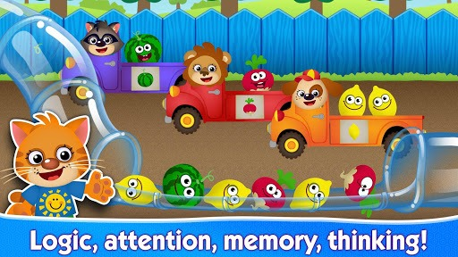 FUNNY FOOD 2! Educational Games for Kids Toddlers! pc screenshot 2