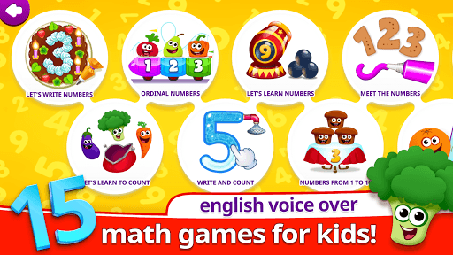 Funny Food 123! Kids Number Games for Toddlers pc screenshot 1