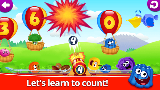Funny Food 123! Kids Number Games for Toddlers pc screenshot 2
