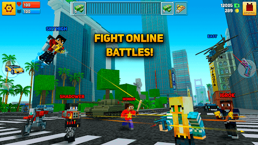 Block City Wars: Pixel Shooter with Battle Royale pc screenshot 1