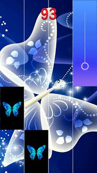 Blue Butterfly Piano Tiles 2019 pc screenshot 2