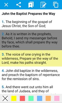 Holy Bible in English pc screenshot 1