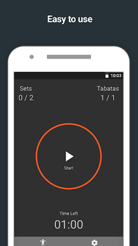 Tabata Timer pc screenshot 1