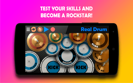 Real Drum - The Best Drum Pads Simulator pc screenshot 2