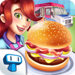American Burger Truck - Fast Food Cooking Game icon