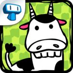 Cow Evolution - Crazy Cow Making Clicker Game icon