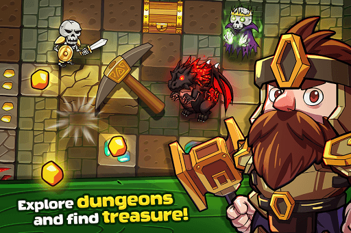 Mine Quest - Crafting and Battle Dungeon RPG pc screenshot 1
