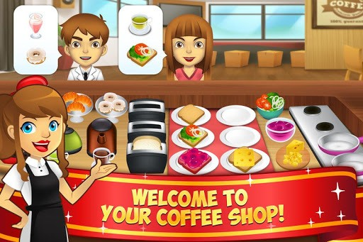 My Coffee Shop - Coffeehouse Management Game pc screenshot 1