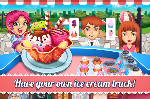 My Ice Cream Shop - Time Management Game pc screenshot 1