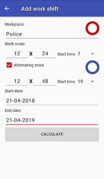 Easy work scheduling pc screenshot 2