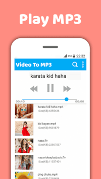 Mp4 to mp3-Video to mp3-Mp3 video converter pc screenshot 2