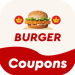 Food Coupons for Burger King - Hot Discounts 🔥🔥 icon