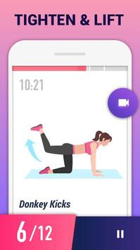 Buttocks Workout - Hips, Legs & Butt Workout pc screenshot 1