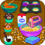 Cooking Jungle Animal Cupcakes icon