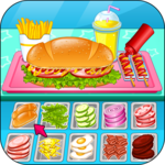 Go Fast Cooking Sandwiches icon