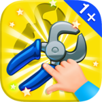 Baby Puzzles. Garage Tools icon