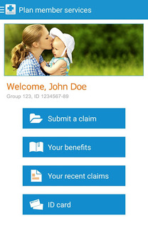 Alberta Blue Cross-My Benefits pc screenshot 1