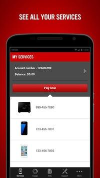 Virgin Mobile My Account pc screenshot 1
