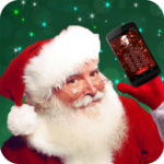 Santa Claus Phone Call & Chat! + Video Messages icon