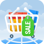 Sales shopping - cheap clothes, discount, sales icon