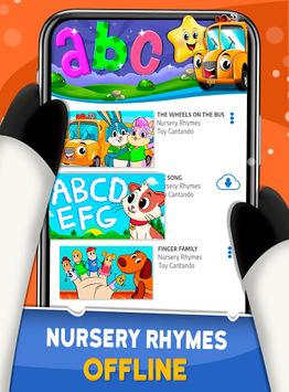 Nursery Rhymes For Kids: Preschool Learning Songs pc screenshot 1
