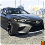 Driving Toyota Car Game for pc logo