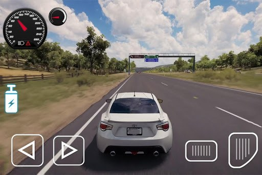 Driving Toyota Car Game pc screenshot 1