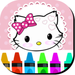 Kitty Coloring Book for Cats for pc logo