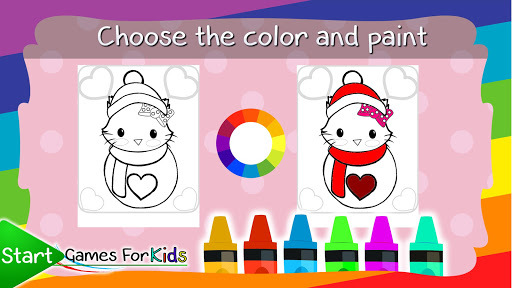 Kitty Coloring Book for Cats pc screenshot 2
