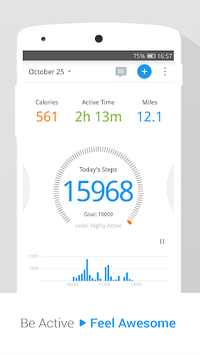 Pedometer, Step Counter & Weight Loss Tracker App pc screenshot 1