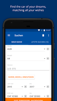 AutoScout24 Switzerland – Find your new car pc screenshot 1