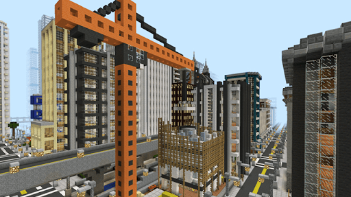 City maps for MCPE pc screenshot 1